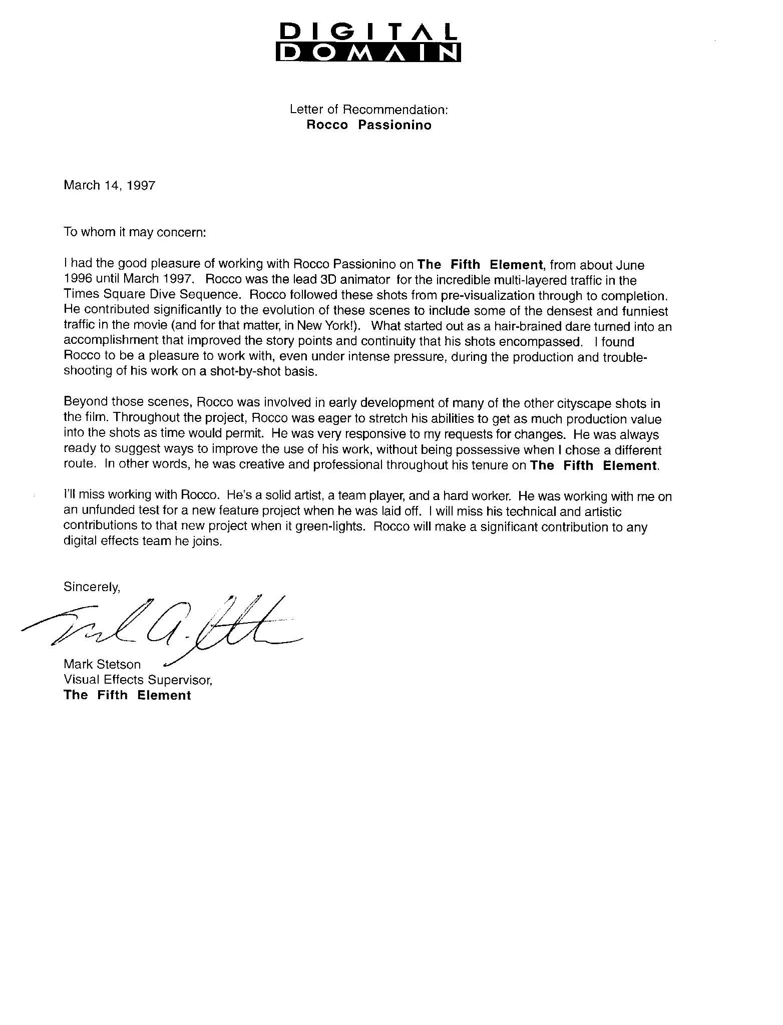 west point letter of recommendation